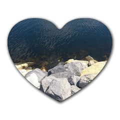 Atlantic Ocean Mouse Pad (heart) by DmitrysTravels