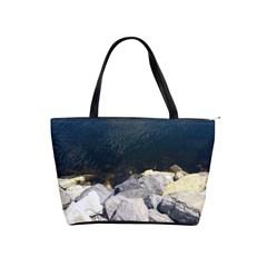 Atlantic Ocean Large Shoulder Bag by DmitrysTravels
