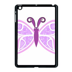 Whimsical Awareness Butterfly Apple iPad Mini Case (Black) by FunWithFibro