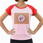 NEW YORK GOLD Women s Cap Sleeve T-Shirt