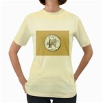 NEW YORK GOLD Women s Yellow T-Shirt