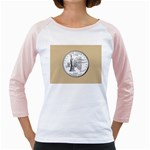 NEW YORK GOLD Girly Raglan