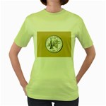 NEW YORK GOLD Women s Green T-Shirt