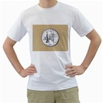 NEW YORK GOLD White T-Shirt