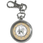 NEW YORK GOLD Key Chain Watch