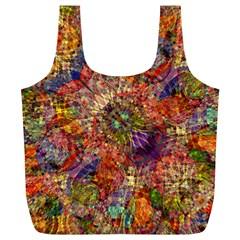 Geocolormatrixrec By Jean Petree   Full Print Recycle Bag (xl)   9vjm0xbvyfr1   Www Artscow Com Front