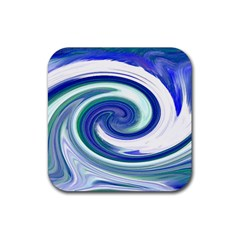Abstract Waves Drink Coasters 4 Pack (square) by Colorfulart23