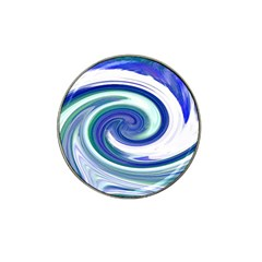 Abstract Waves Golf Ball Marker 4 Pack (for Hat Clip) by Colorfulart23