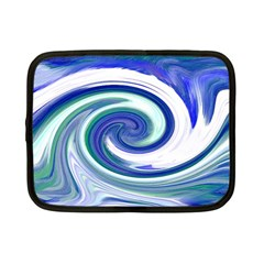 Abstract Waves Netbook Sleeve (small) by Colorfulart23