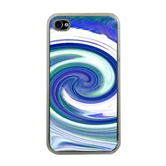 Abstract Waves Apple Iphone 4 Case (clear) by Colorfulart23