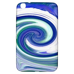 Abstract Waves Samsung Galaxy Tab 3 (8 ) T3100 Hardshell Case  by Colorfulart23