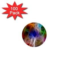 Fractal Fantasy 1  Mini Button (100 Pack)