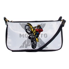 Moto X Wheelie Shoulder Clutch Bag by MegaSportsFan
