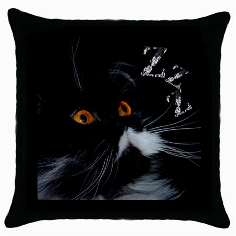 Oreiller4 By Servos   Throw Pillow Case (black)   L2act8eplite   Www Artscow Com Front