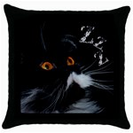 oreiller4 - Throw Pillow Case (Black)