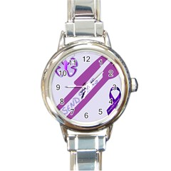 Send Spoons Round Italian Charm Watch by FunWithFibro