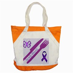 Send Spoons Accent Tote Bag by FunWithFibro