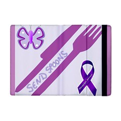 Send Spoons Apple Ipad Mini Flip Case by FunWithFibro