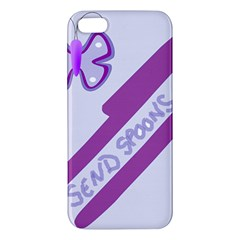 Send Spoons Apple Iphone 5 Premium Hardshell Case by FunWithFibro