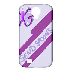 Send Spoons Samsung Galaxy S4 Classic Hardshell Case (pc+silicone) by FunWithFibro