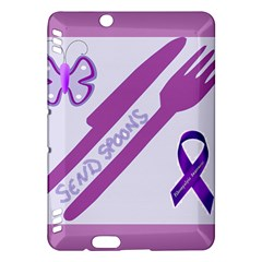 Send Spoons Kindle Fire Hdx 7  Hardshell Case by FunWithFibro