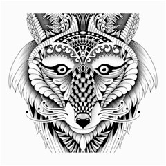 Ornate Foxy Wolf Canvas 20  X 24  (unframed) by Zandiepants