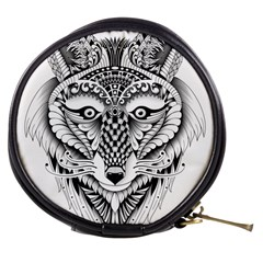 Ornate Foxy Wolf Mini Makeup Case