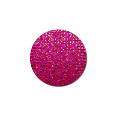 Polka Dot Sparkley Jewels 1 Golf Ball Marker 4 Pack by MedusArt