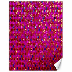 Polka Dot Sparkley Jewels 1 Canvas 18  X 24  (unframed) by MedusArt