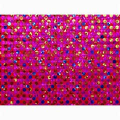 Polka Dot Sparkley Jewels 1 Canvas 36  X 48  (unframed) by MedusArt