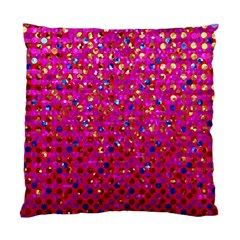Polka Dot Sparkley Jewels 1 Cushion Case (two Sided)  by MedusArt