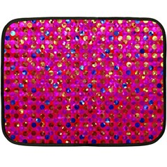 Polka Dot Sparkley Jewels 1 Mini Fleece Blanket (two Sided) by MedusArt