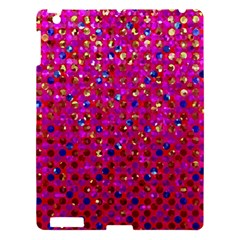 Polka Dot Sparkley Jewels 1 Apple Ipad 3/4 Hardshell Case by MedusArt