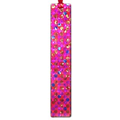 Polka Dot Sparkley Jewels 1 Large Bookmark by MedusArt