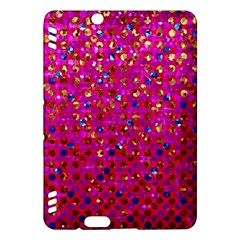 Polka Dot Sparkley Jewels 1 Kindle Fire HDX 7  Hardshell Case