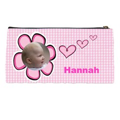 Pink Princess Pencil Case By Deborah   Pencil Case   Bs1lzf7hfx5y   Www Artscow Com Back