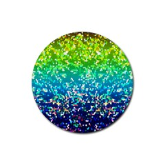 Glitter 4 Drink Coasters 4 Pack (round) by MedusArt