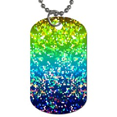 Glitter 4 Dog Tag (one Sided) by MedusArt