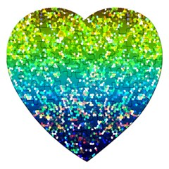 Glitter 4 Jigsaw Puzzle (heart) by MedusArt