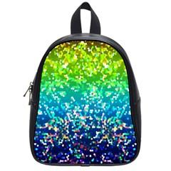 Glitter 4 School Bag (small) by MedusArt