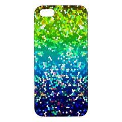 Glitter 4 Iphone 5s Premium Hardshell Case by MedusArt