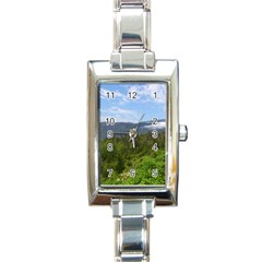Newfoundland Rectangular Italian Charm Watch by DmitrysTravels