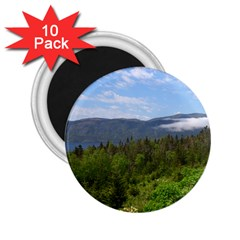 Newfoundland 2 25  Button Magnet (10 Pack) by DmitrysTravels