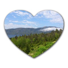 Newfoundland Mouse Pad (heart) by DmitrysTravels