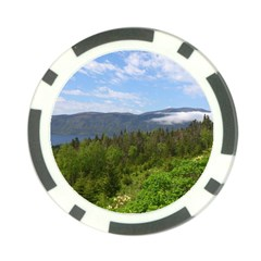Newfoundland Poker Chip (10 Pack) by DmitrysTravels