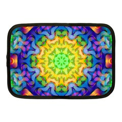 Psychedelic Abstract Netbook Sleeve (medium) by Colorfulplayground