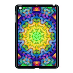 Psychedelic Abstract Apple Ipad Mini Case (black) by Colorfulplayground