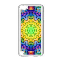 Psychedelic Abstract Apple Ipod Touch 5 Case (white) by Colorfulplayground