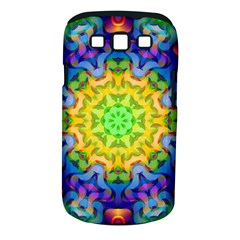 Psychedelic Abstract Samsung Galaxy S Iii Classic Hardshell Case (pc+silicone) by Colorfulplayground