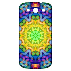 Psychedelic Abstract Samsung Galaxy S3 S Iii Classic Hardshell Back Case by Colorfulplayground